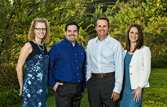 Meet Friendswood and Pearland Invisalign clear braces dentists Montz, Maher, Dunwody, and Varesic.